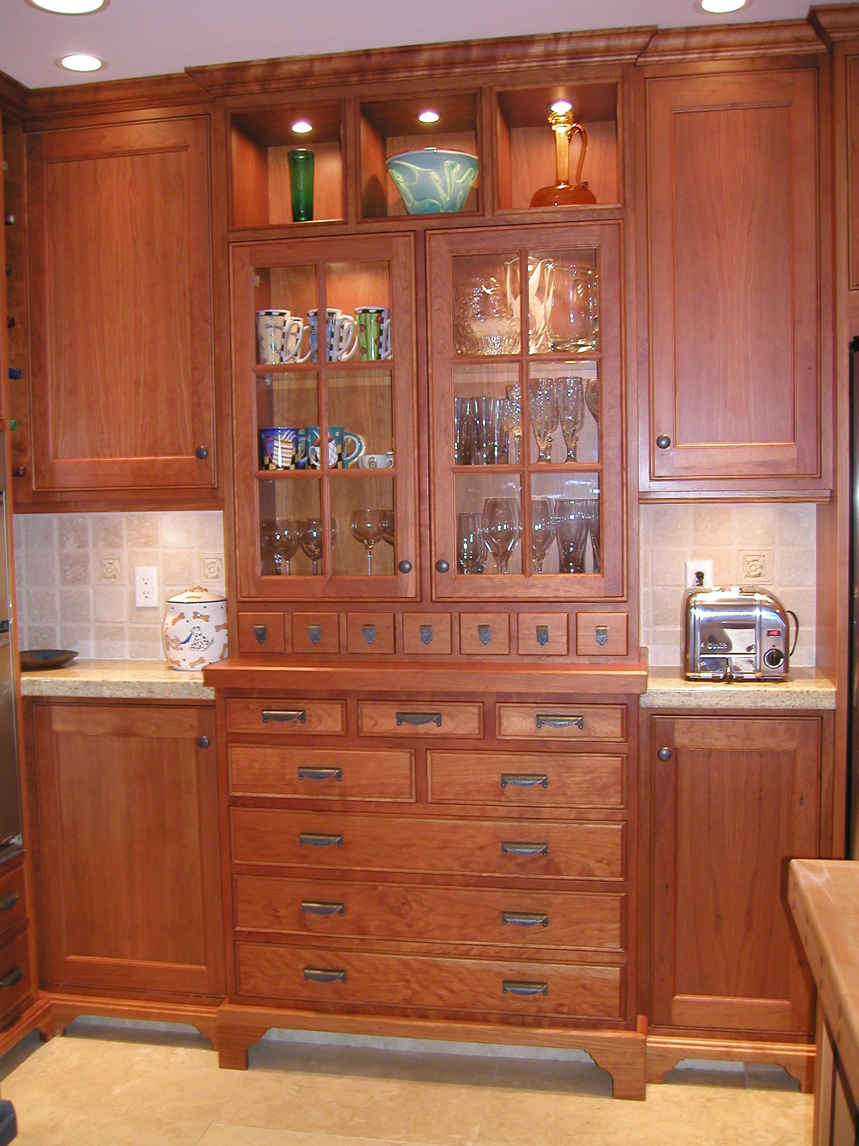 Best Built In China Cabinet Craftsman House Pinterest 640 x 480